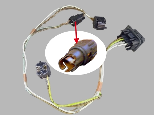 mercedes benz w210 headlight wire harness light socket connector rh hongmei com tw Mercedes W221 Mercedes W211