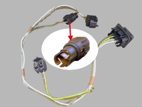 mercedes w210 headlight wire harness light socket connector hong mei trading co ltd