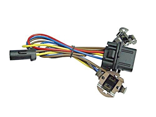 mercedes w headlight wiring harness connector kit fits to h mercedes benz w210 headlight wiring harness connector kit
