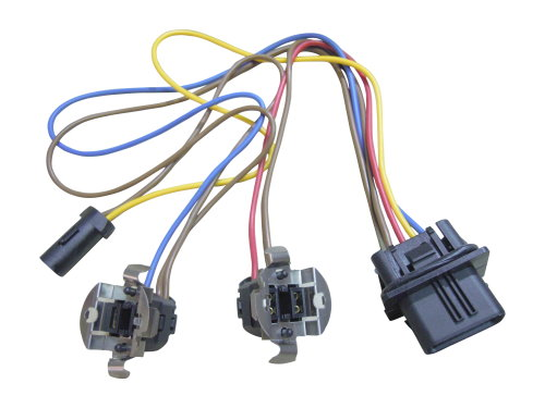 Mercedes BENZ W210 Headlight wiring harness connector kit ... on