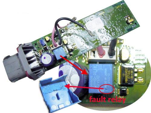 Bmw X5 E70 Electronic Parking Brake Actuator Relay Hong