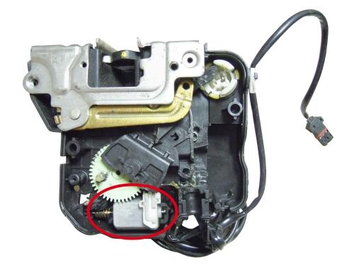 Mercedes benz w203 w211 door central locking motor hong for Mercedes benz door lock pins