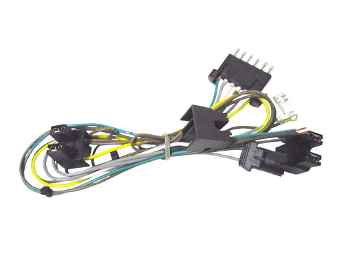 Mercedes benz w210 headlight wire harness light socket for Mercedes benz wiring harness replacement