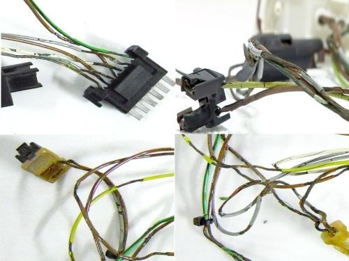 Mercedes W220 Headlight wiring harness connector kit (fits ... on