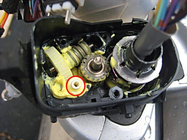 Lexus Ls430 2001 2006電動後視鏡折達馬達齒輪 宏美貿易有限公司