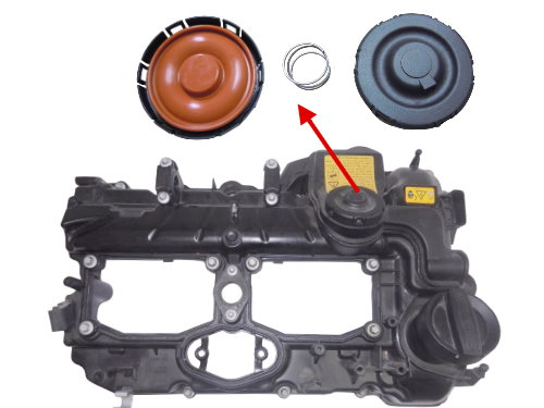 Cylinder Head Valve Cover 11127588412 For Bmw N20 1 2 3